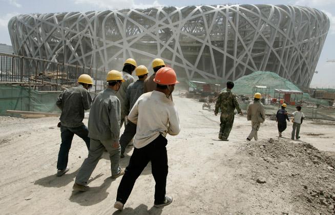 אצטדיון קן הציפור בסין נבנה תוך מחשבה על ההיבט הירוק.