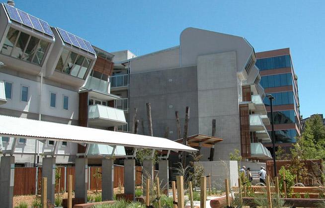 בית הדירות באוסטרליה כדוגמה למבנה חכם