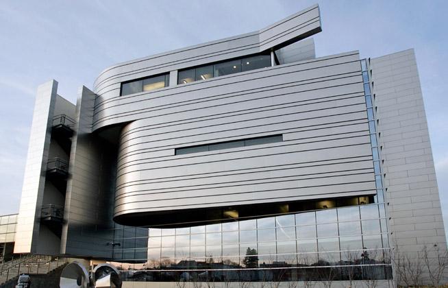 המבנה של בית המשפט באורגון הוא דוגמה לחשיבה על שמירת הסביבה.